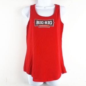 Big Rig Brewery Red Tank Top